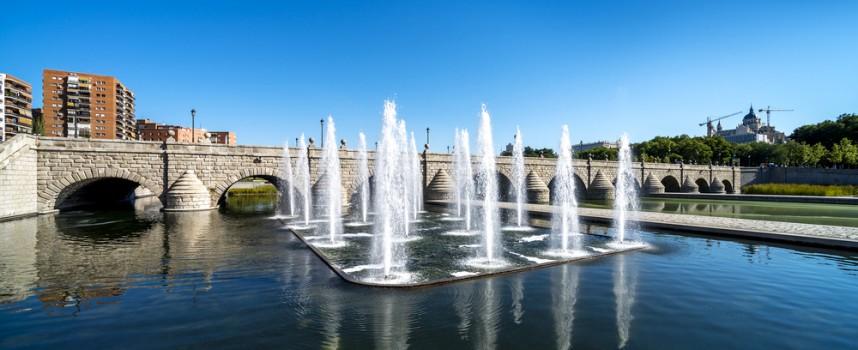 Madrid Río, deporte, ocio y cultura a orillas del Manzanares