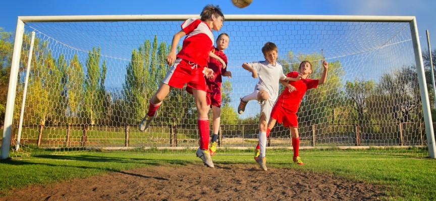 Niños, deporte y diversión