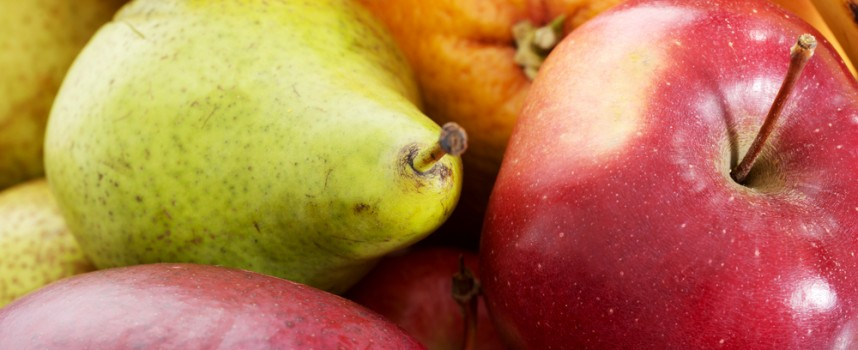 Manzana y pera, las frutas del invierno