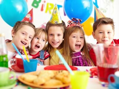 Fiestas saludables para los más pequeños