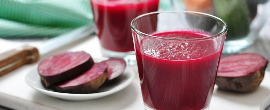 Un zumo de remolacha al día para reducir la tensión