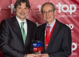Novartis logra el título a Mejor Empresa Top Employers España 2017