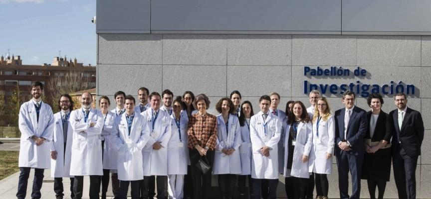 Su Majestad la Reina Doña Sofía apoya la investigación en su visita a HM Hospitales