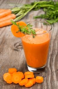 zanahoria zumo verdura