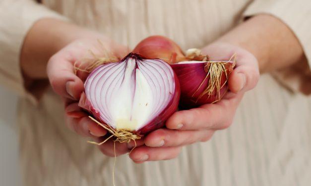 Las propiedades saludables de la cebolla