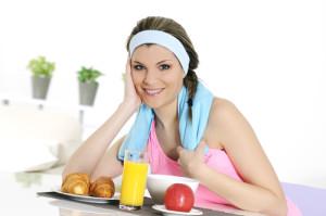 Ponerse en forma es más fácil si la alimentación es la adecuada