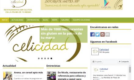Celicidad, app y web de referencia para los celiacos