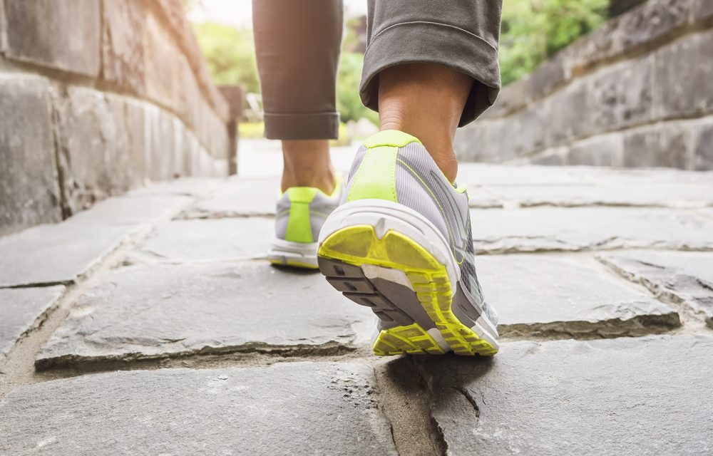 Caminar, una buena manera de estar en forma