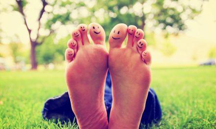Los pies son una parte importante de ti