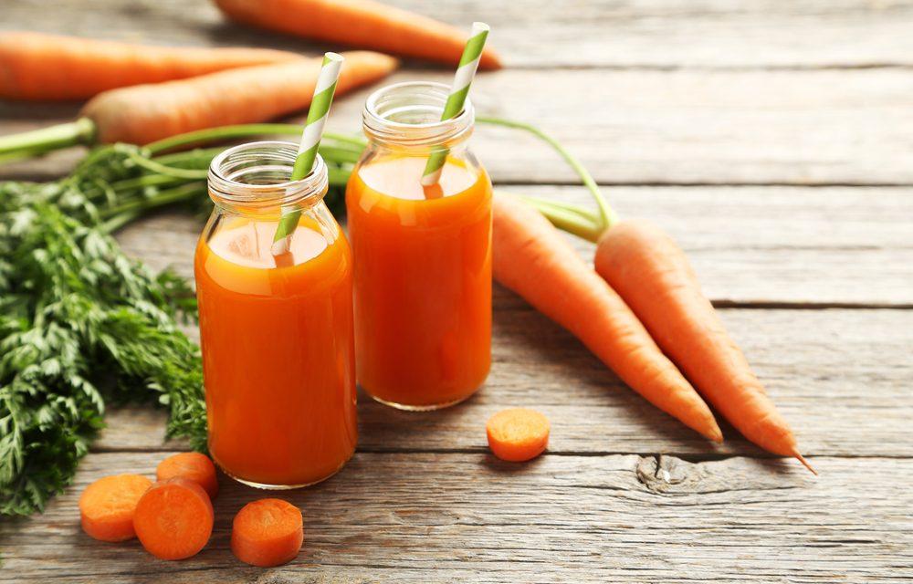 Los beneficios de la zanahoria
