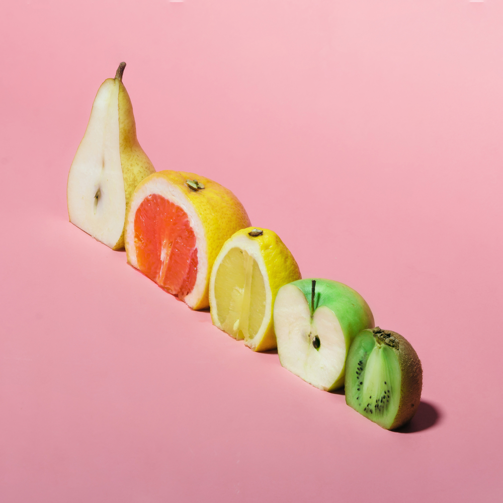 De los frutas son sanos batidos