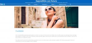 espondilitis anquilosante