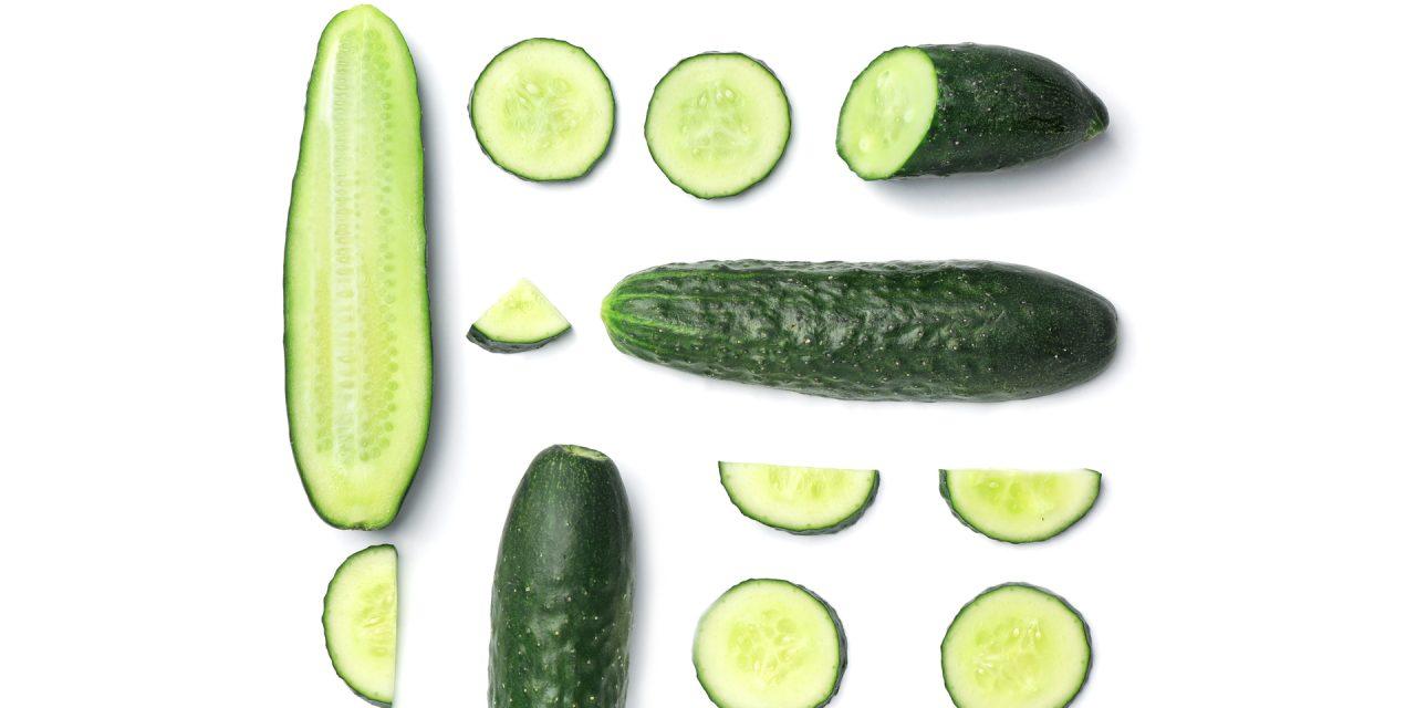 como bajar de peso comiendo pepino