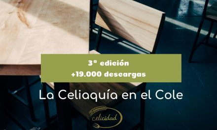 Celicidad publica la tercera edición de la guía La Celiaquía en el Cole